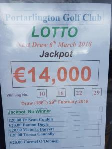 Lotto Feb 20