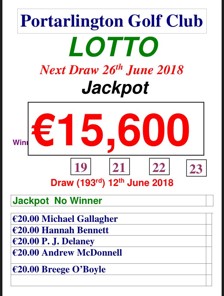 Lotto June 12