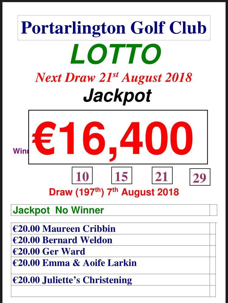 Lotto 070818