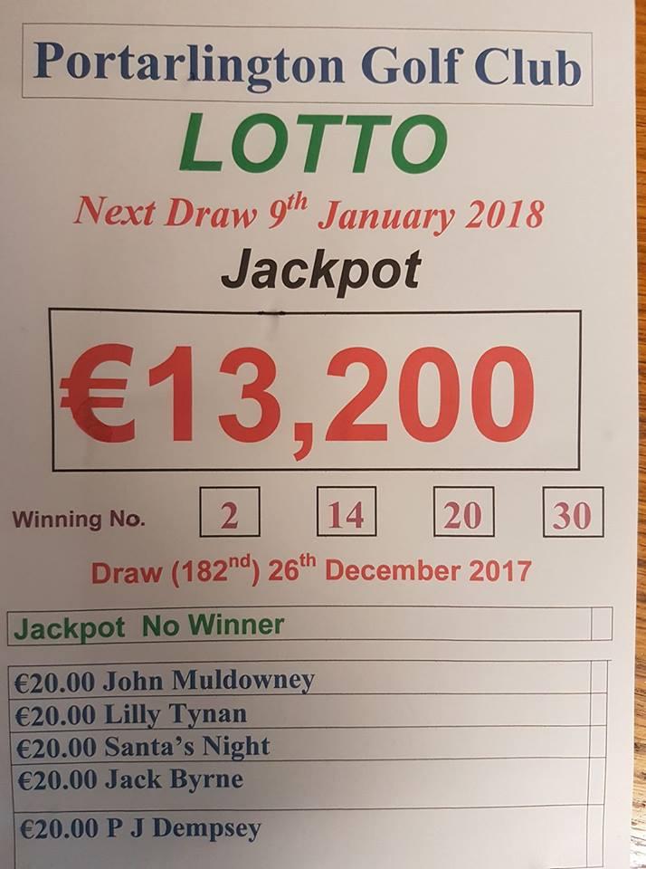 lotto 26th dec