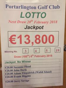 Lotto Feb 6