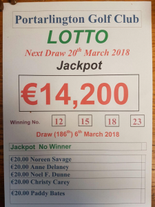 Lotto Mar 6