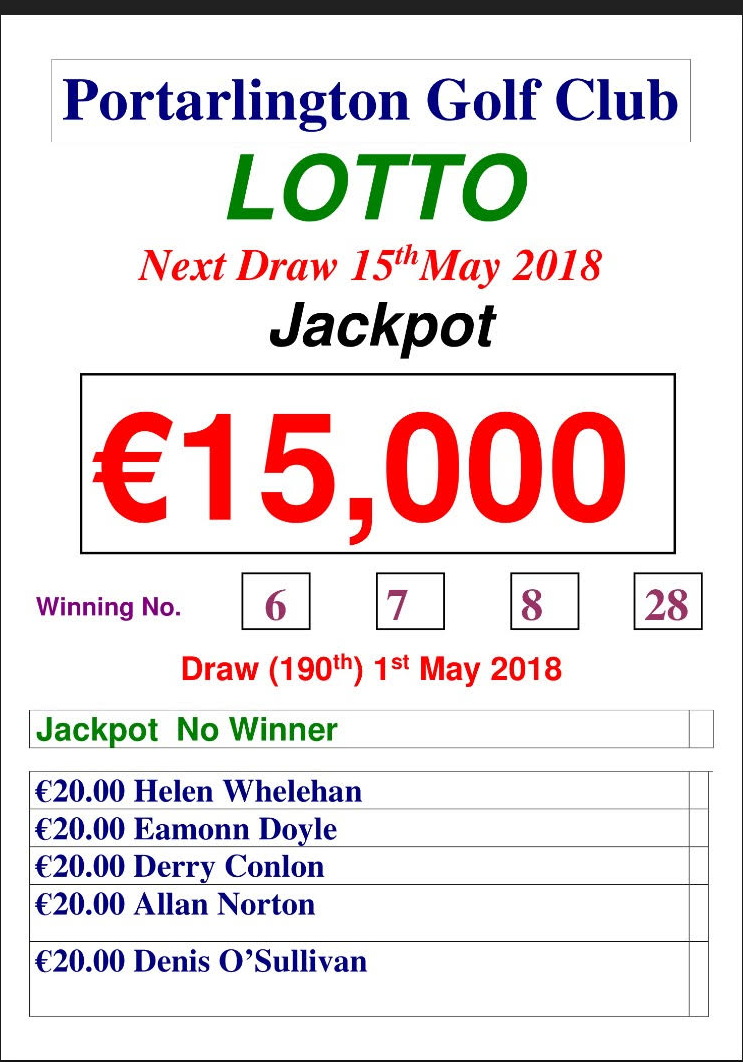 Lotto May 1